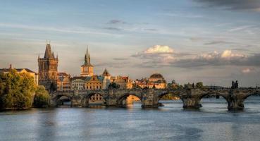 Charles Bridge in Praag, Tsjechië