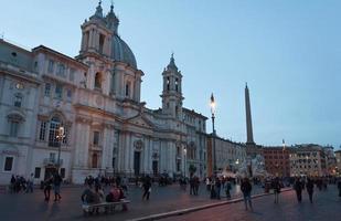 rome piazza navona plein foto
