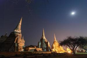 wat phra sri sanphet ayutthaya thailand foto