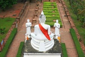 achterkant van grote boeddha foto