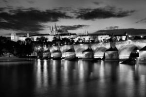 historische Charles-brug in Praag, Tsjechische Republiek