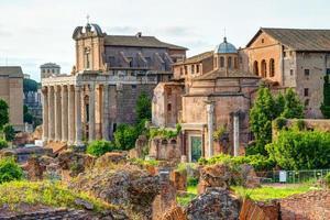 romeinse forum in rome foto