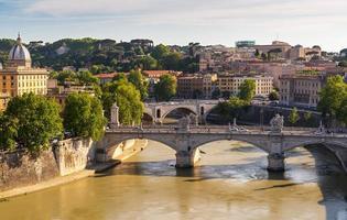 uitzicht over rome, Italië foto