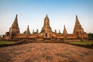wat chaiwatthanaram tempel, ayutthaya, thailand foto