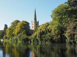 heilige drie-eenheidskerk in Stratford upon Avon
