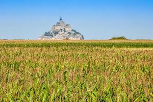 mont saint michel - normandië - frankrijk foto