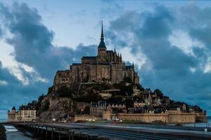 Frankrijk. Normandië. mont saint-michel (mont saint michã ©) foto