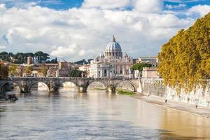 st. Peter's Basiliek in Rome, Italië foto