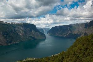 aurlandsfjord foto