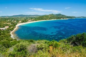 zuidkust van Sardinië foto