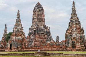 Thaise oude tempel foto