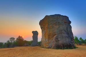 mor hin khao, thailand foto