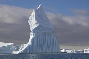 ijsberg in antarctica foto