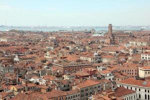 de daken van Venetië