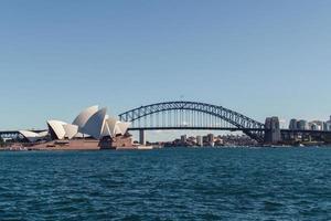 sydney opera house, sydney australië foto