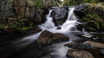 cascade in het loch-dal foto