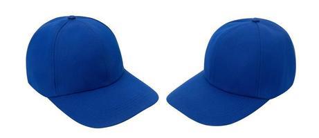 blauwe baseballcap mockup