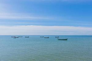 boten op zee foto
