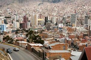 la paz stad - bolivia