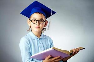 schattige student foto