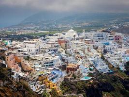 fira santorini griekenland