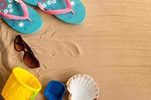 zomer strand vakantie achtergrond foto