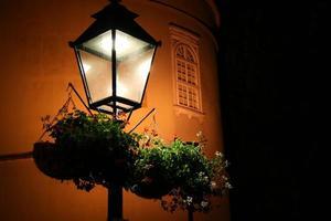 lantaarn in Zagreb, Kroatië