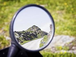 achter spiegel