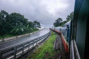 treinen versnellen foto