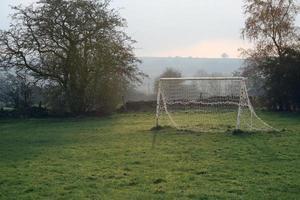 eenzaam Engels voetbal, voetbaldoel