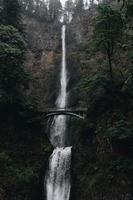 Benson Bridge en Multnomah Falls