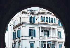 Sidi Bou Said, Carthago, Tunesië, 2020 - wit en blauw gebouw