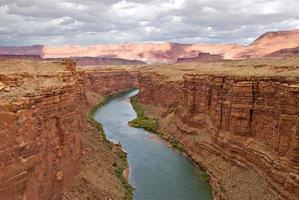 marmeren canyon foto