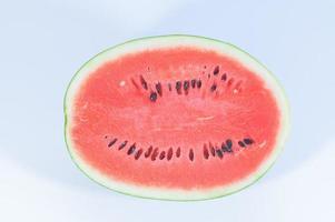 watermeloen op witte achtergrond