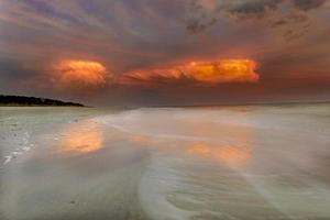 zonsondergang op hilton head island