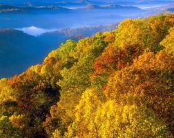 Pinnacle Rock State Park in West Virginia foto