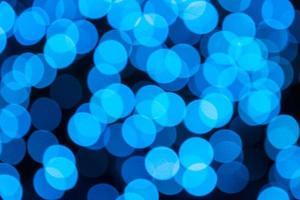 verlichte onscherpe lichten