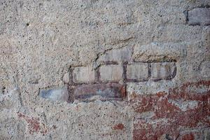 bruine betonnen muur