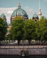 de kathedraal van berlijn in berlijn, duitsland