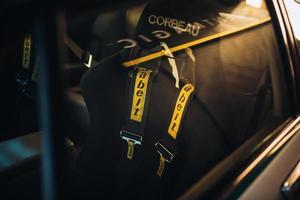 Kaapstad, Zuid-Afrika, 2020 - weergave van kuipstoel van raceauto