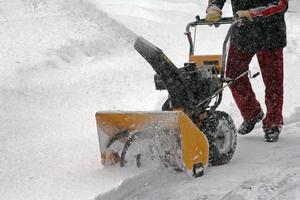 verwijdert sneeuw