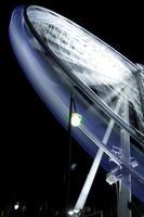 time-lapse van een reuzenrad foto
