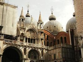 patriarchale kathedraal basiliek van San Marco foto