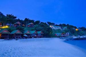 resort op het eiland in Thailand foto