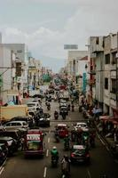 verkeer in Indonesië foto