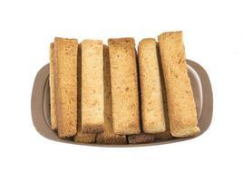 Indiase toaststokken op een bord foto