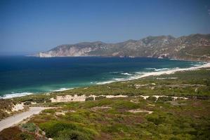 Sardinië. iglesiente kust