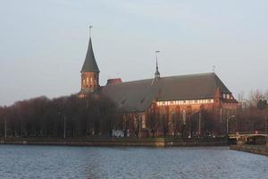 konigsberg kathedraal. Kaliningrad foto