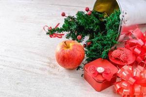 cadeaus met kerstthema foto