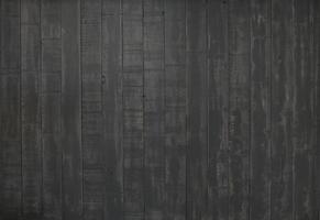 zwarte houtstructuur of achtergrond met kopie ruimte foto